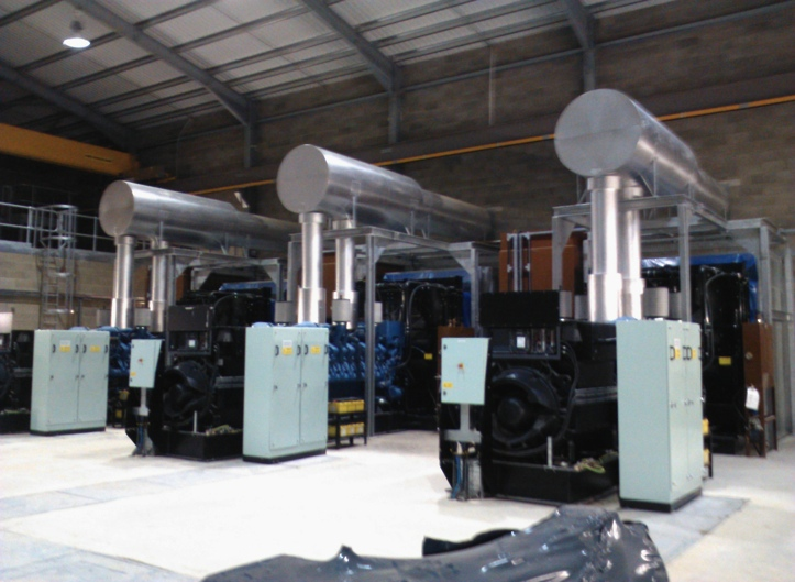 Hospital Generator Exhaust Systems
